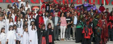 Tret de sortida del Centenari dels Pastorets de Folch i Torres