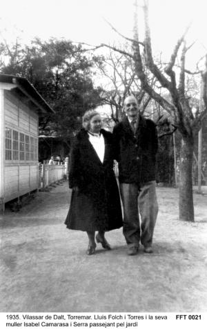 Commemorem els 75 anys de la mort de Lluís Folch i Torres